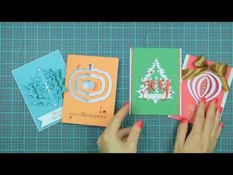 Hero Arts How-To: Paper Layering Dies - YouTube
