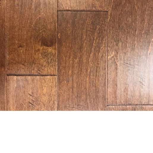 Birch Cayenne 3 8 X 6 1 2 X 1 5 6 Character Grade 1 2mm Wear Layer Scraped Chatter Engineered Prefinished Flooring Flooring Hardwood Floors Hardwood