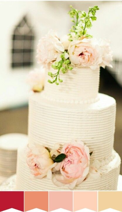That cake is cute and i like the colors- Wedding color scheme