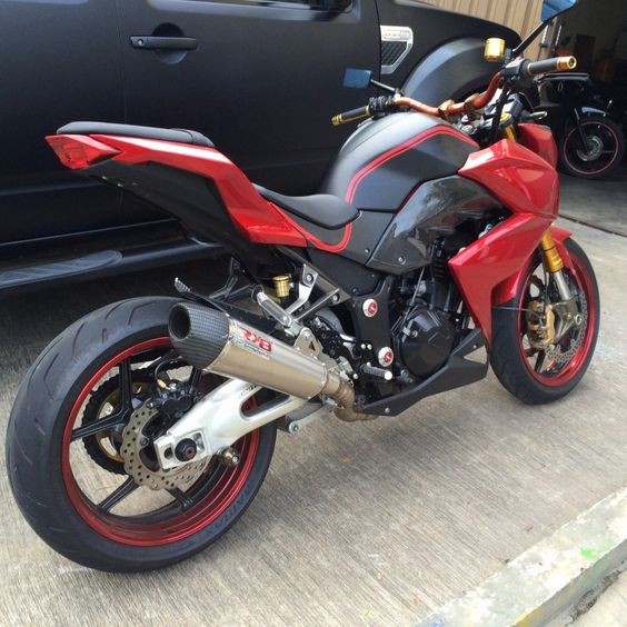 contoh modifikasi motor ninja z250