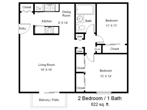 Half Bathrooms One Half And Apartment Floor Plans On