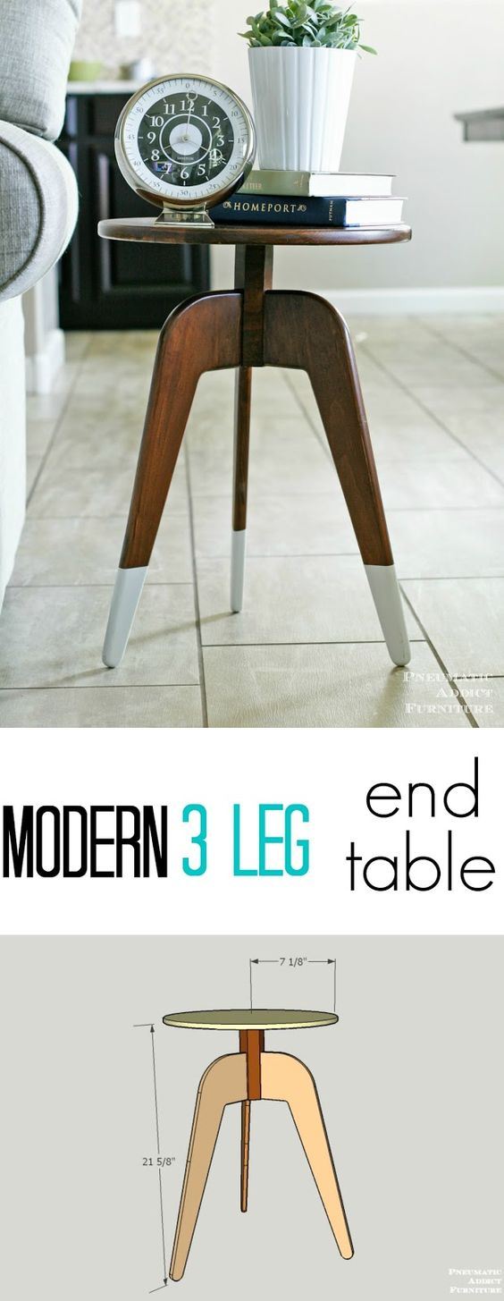 Modern End Tables One 1 And End Tables On Pinterest