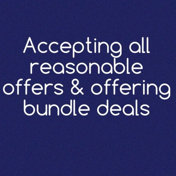 Bundle sale & accepting all reasonable offers made Bundle sale & accepting all reasonable offers made Other