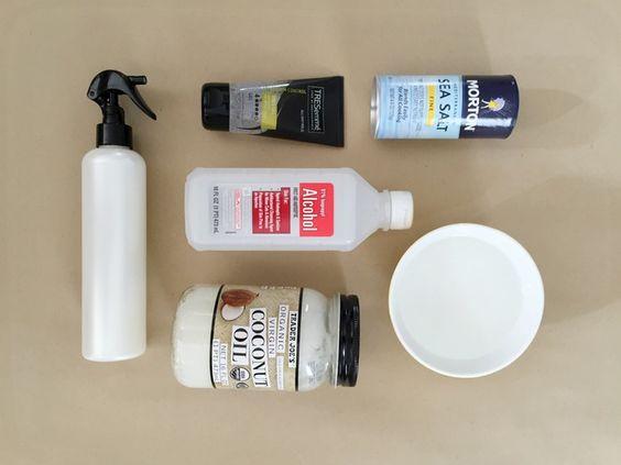DIY Sea Salt Beach Spray Made With Stuff You Already Own