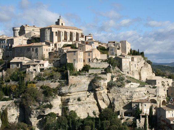 Hordes le-luberon-paysage-vaucluse France