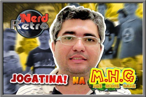 NERD RETRÔ - MINI HOUSE GAME