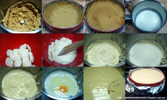 tarta chocolate blanco caramelo 1