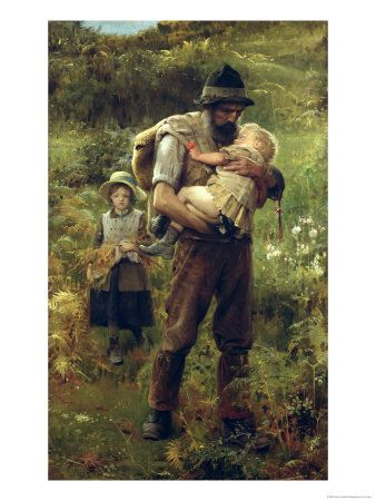 A Heavy Burden  Arthur Hacker