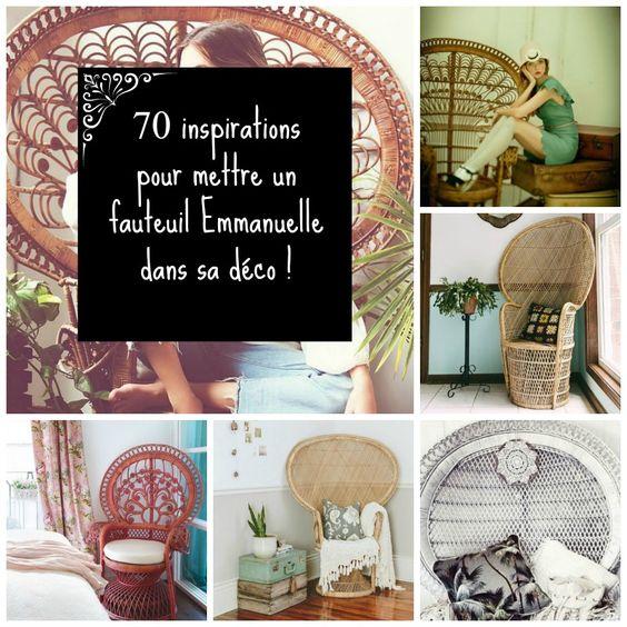 ... : 70 inspirations pour mettre un fauteuil Emmanuelle dans sa déco