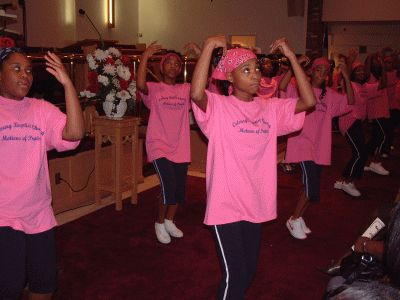 You can even get your church/organizations name on shirts. Google Image Result for http://www.calvarybc.org/images/praise%2520dancers.gif