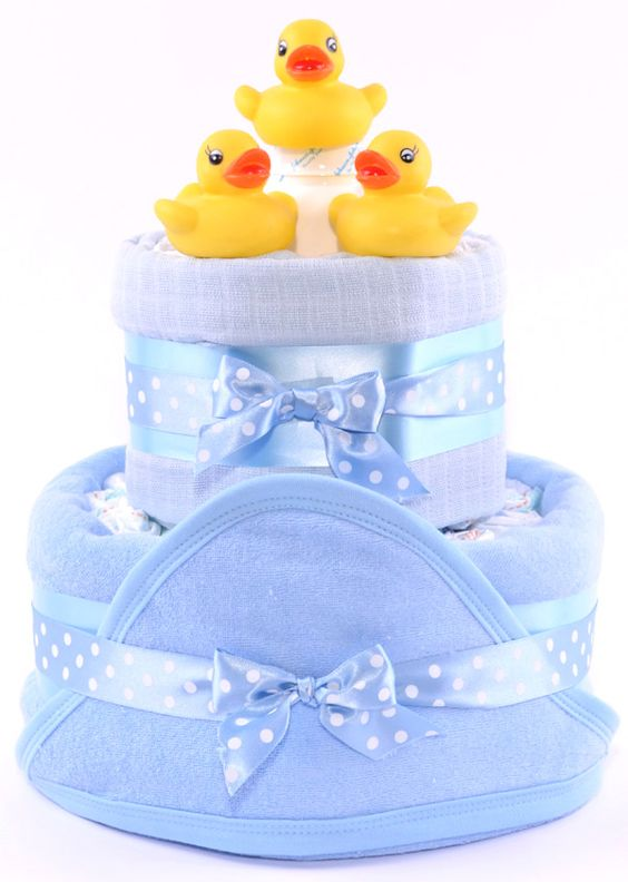 nappy cake Blue: