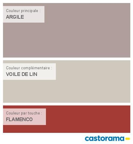 Castorama nuancier peinture mon harmonie peinture argile satin de colours collection for Quelle couleur associer a l orange