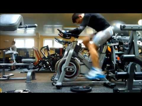 ▶ Tabata indoor cycling trening - YouTube