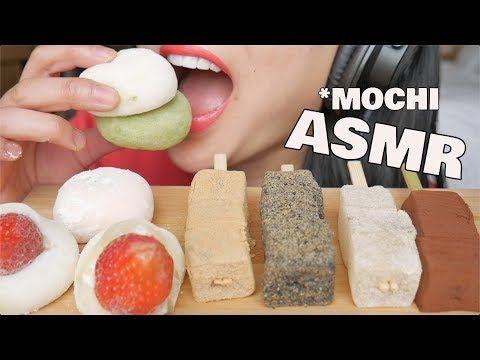 Asmr Best Mochi Warabimochi Soft Eating Sounds No Talking Sas Asmr Youtube Satisfying Eats Food Creative Food Sas asmr vs pink asmr. pinterest