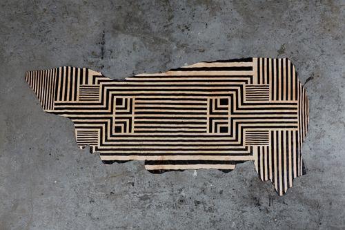 Avoavo- Leather floor covering