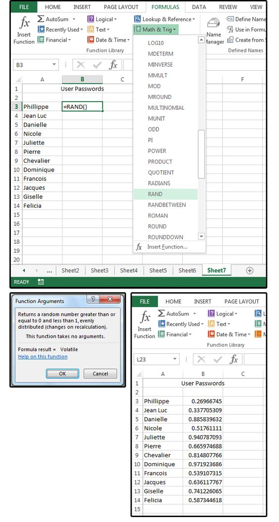 Wonderful Excel Tips 6 Slick Shortcuts, Handy Functions And Random Number   Electronegativity  Chart Template