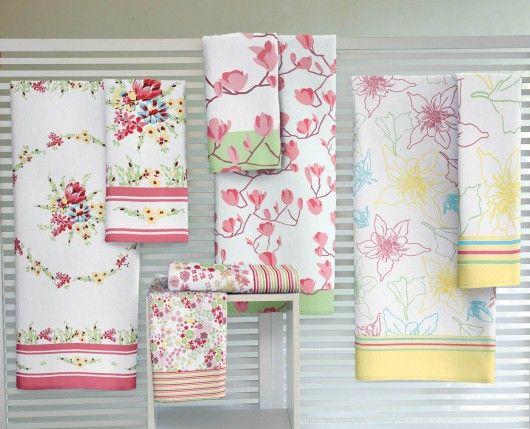 Conjunto com 3 toalhas de banho (sortido) - Lepper