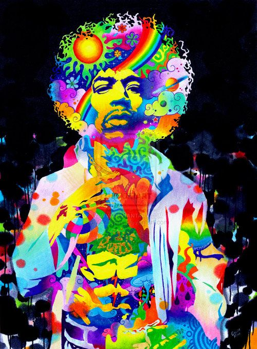 Pinterest the world s catalog of ideas - Jimi hendrix wallpaper psychedelic ...