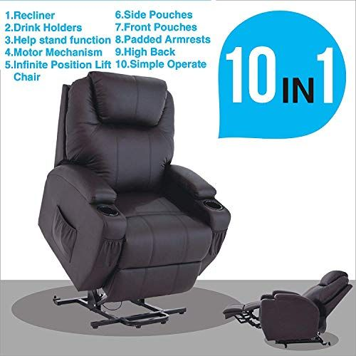 Mecor Power Lift Recliner Chair For Elderly Electric Lift Chair