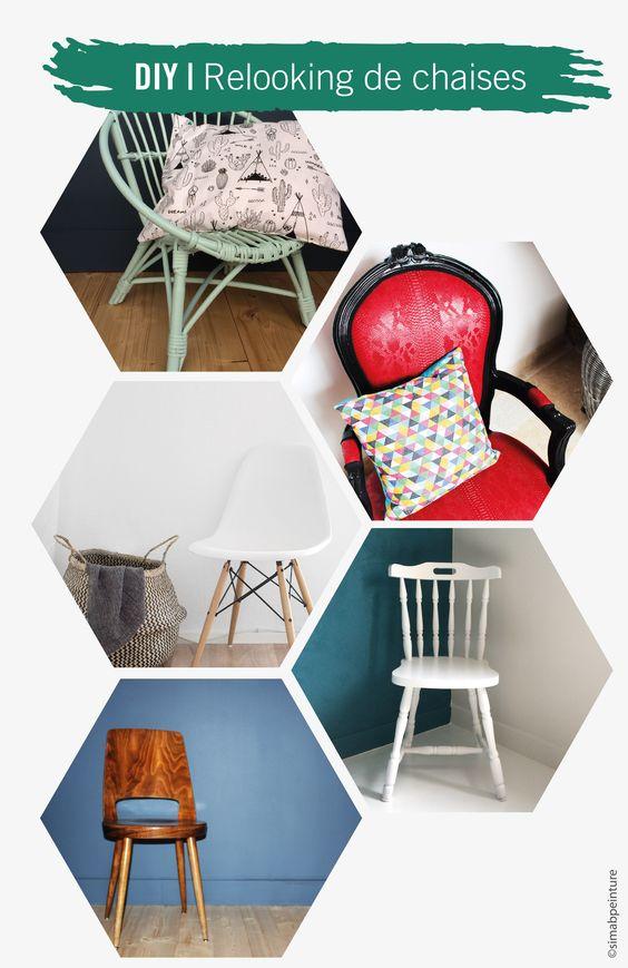 DIY Relooking chaises Les chaises en folie ! DIY Relooking