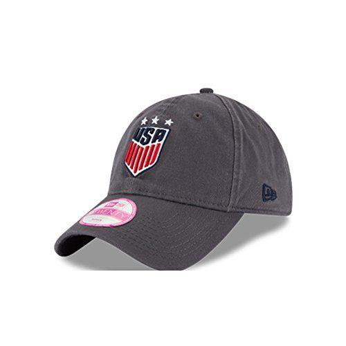 Usa Soccer New Era Womens Preferred Pick Lightly Structured Adjustable Hat Adjustable Hat Womens Baseball Cap New Era