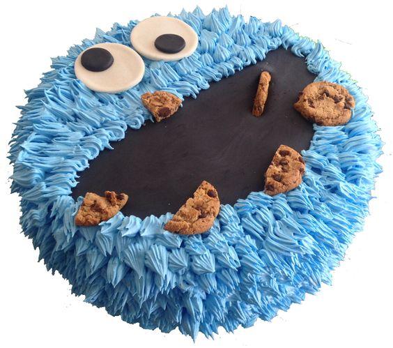 pastel muppet !!! Con pan casero, aplicaciones en fondant y Mernegue... de 30 a 40 porciones