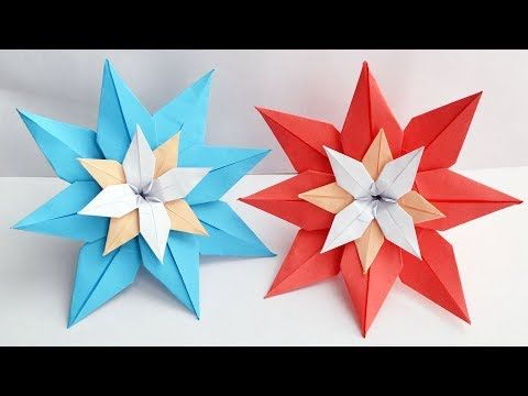 How To Make an Origami Lily Flower - YouTube | 360x480