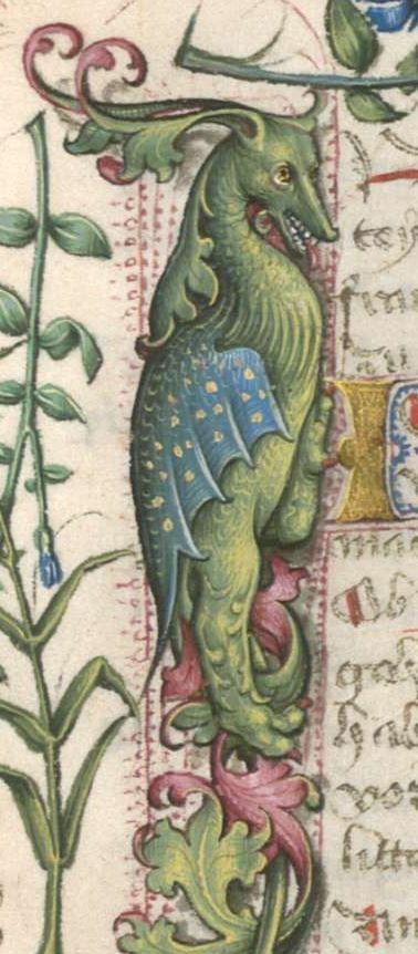 Jacobus : Jacobi de Ancharano (alias de Teramo) Litigatio Christi cum Belial, verdeutscht 1461 Cgm 48 Folio 2r