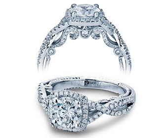L.O.V.E.  Lusted Over Verragio Engagement (ring)    When I saw a picture of it on facebook it had a pale aquamarine stone in the center. Simply Lovely.