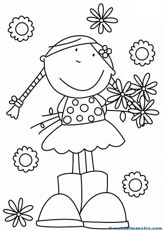 Educativos Colorear Recursos Material Didctico Infantil