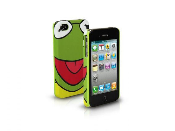 Rigid PVC case for iPhone 4/4S, subject Big Face Kermit  http://www.sbsmobile.com/iphone/fashion_disney/1408_disney-case-for-iphone-44s.html
