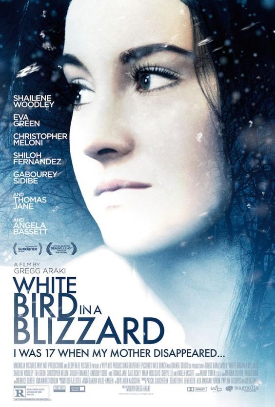 Shailene Woodley, White Bird In A Blizzard   EntertainmentWise --- I should watch this