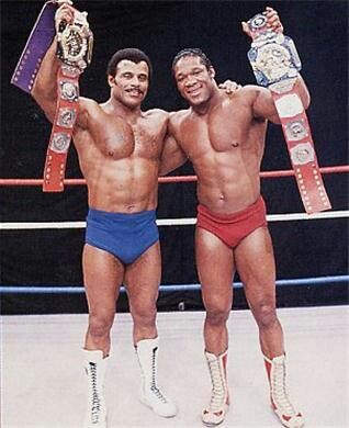 Image result for tony atlas and rocky johnson WWE Tag Team Championship