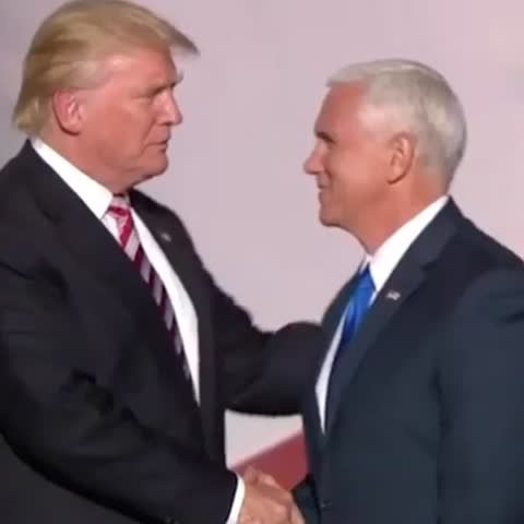 "POLITICO on Twitter: ""ICYMI: @realDonaldTrump blows @mike_pence an air kiss https://t.co/pHkV5CAZVl https://t.co/j2XNNRt9SE"""