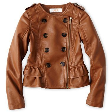 Joe Fresh™ Faux Leather Jacket - Girls 4-14 - jcpenney LOVE this