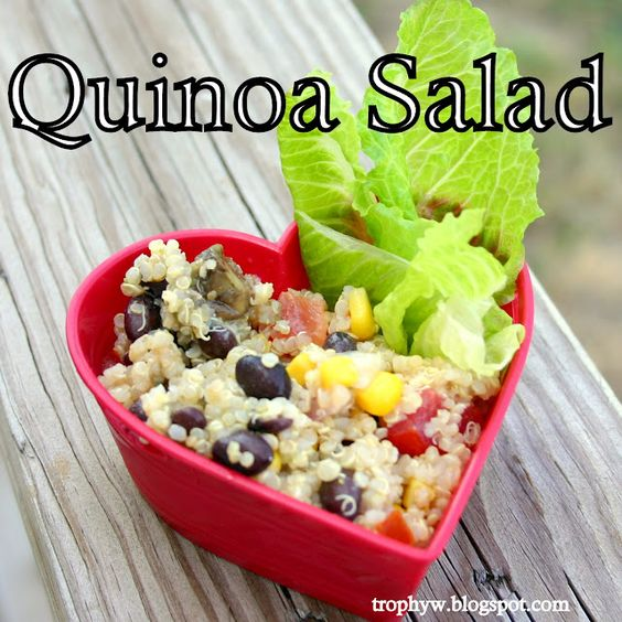 Tales of a Trophy Wife: Southwest Quinoa Salad: Sw Salad, Pasta Salad, Sliced Olives, Salad Definitely, Salads Galore, Dishes Salads, Salad Add, Quinoa Salad, Southwest Quinoa