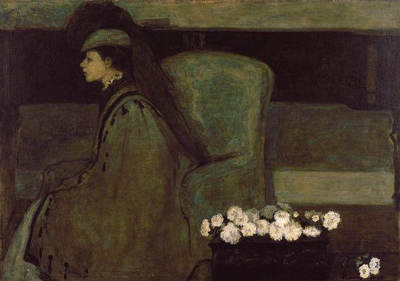 Le Piano  exhibited 1910  Romaine Brooks