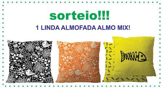 Casa Adorada: Sorteio de almofada Almo Mix!