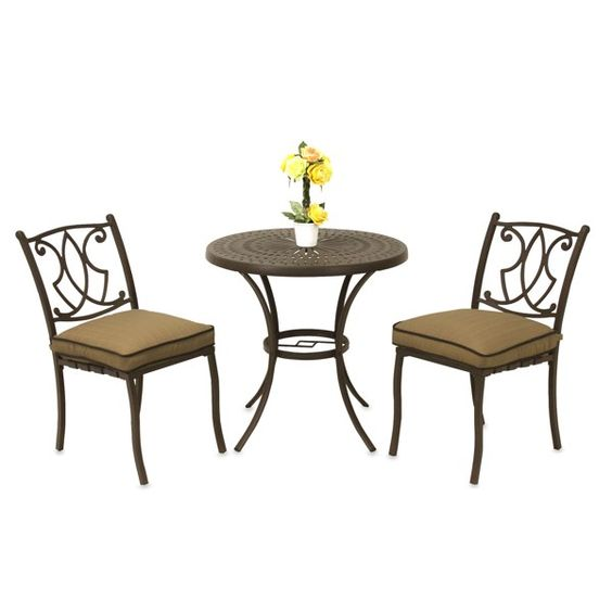 Small Patio Table With Umbrella Hole Solution