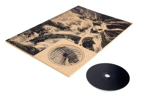 Album feito com carpete