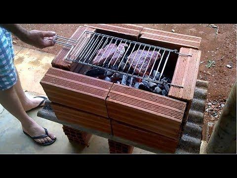 Fotos de churrasqueiras improvisadas