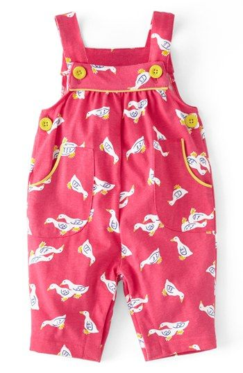 Mini Boden Print Jersey Overalls Baby Girls Available At