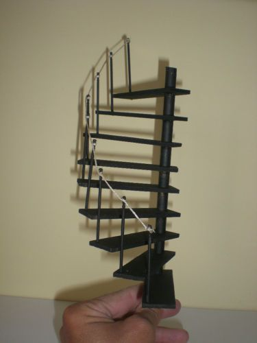 Tower Staircase Miniature : Miniature dolls spiral staircases and doll houses on