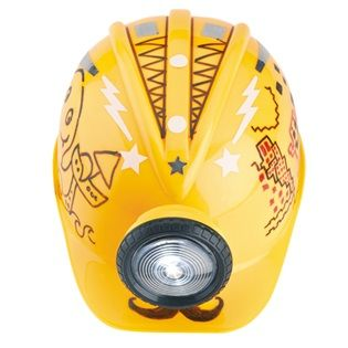 Light Up Doodle Helmet - You are about to enter the fun zone! With this make your own, light-up, construction-style helmet the play-and-pretend possibilities are endless. #creativityforkids
