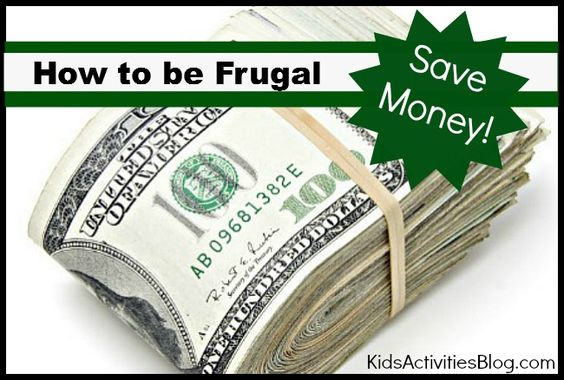 How To Be Frugal {Save Money}