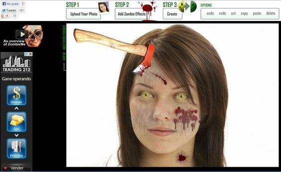 ZombieMe, webapp gratis para convertir la foto de cualquier persona en la de un terrorífico zombie