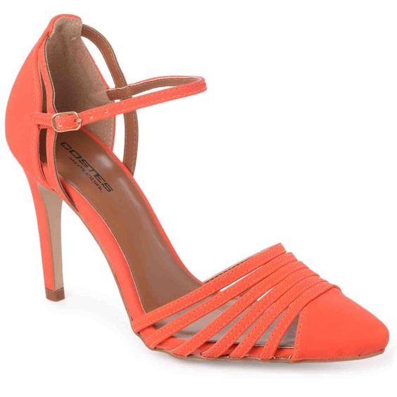 Sapato Salto Alto Costes Mônica   Mundial Calçados - MundialCalcados