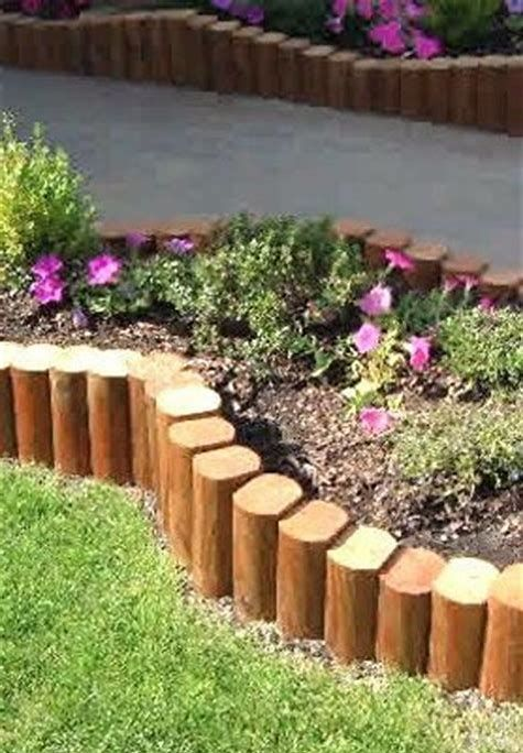 Landscape Timber Edging Is Very Easy To Mount And Creates An