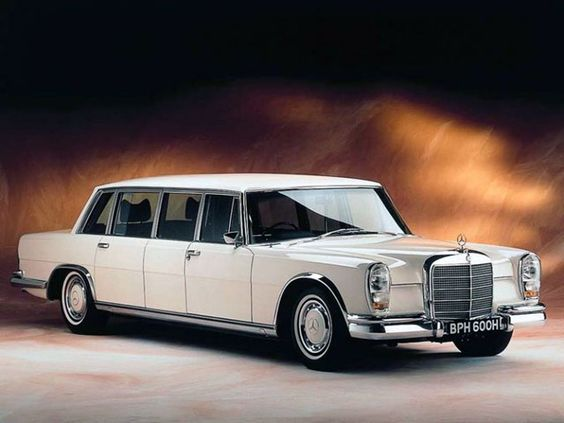 Wonder how many people this classic Mercedes-Benz will hold?