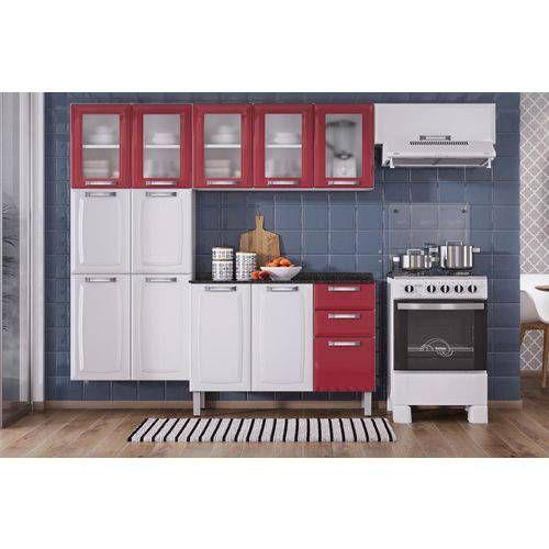 Foto 1 Cozinha Completa Itatiaia Luce Aco Coz 5 3v 3 Pecas